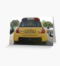 Renaultsport Clio V6 Greeting Card