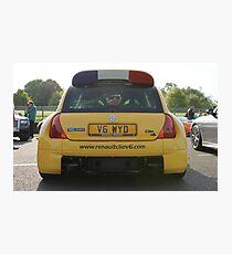 Renaultsport Clio V6 Photographic Print