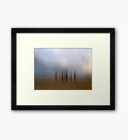 Seaside Memories Framed Print