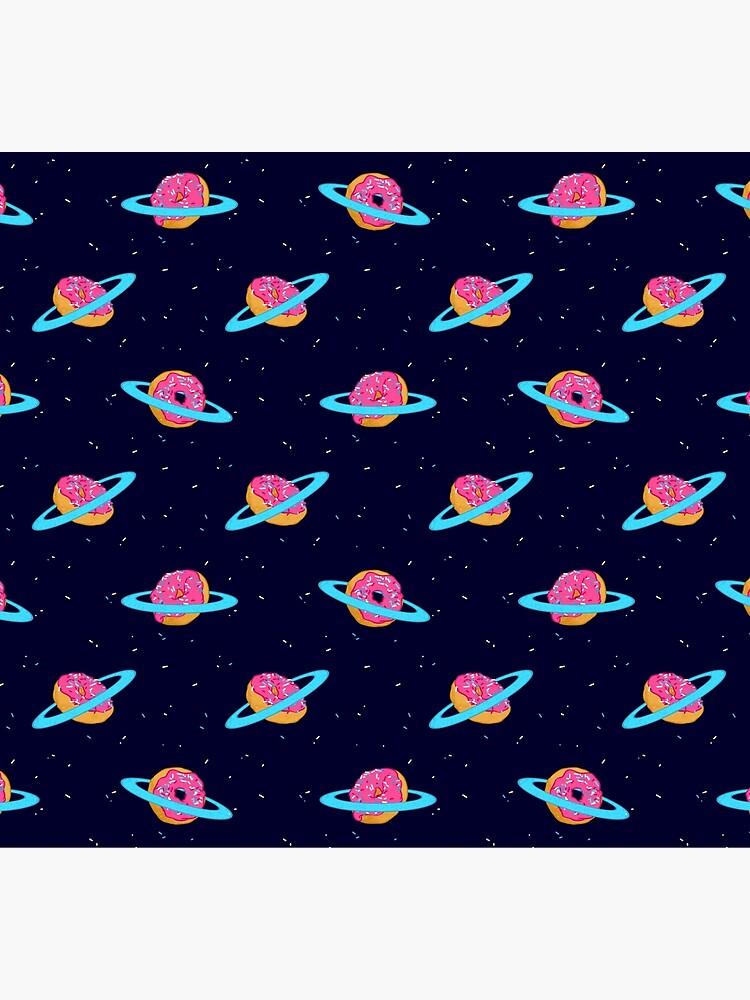 Sugar rings of Saturn by Chuvardina