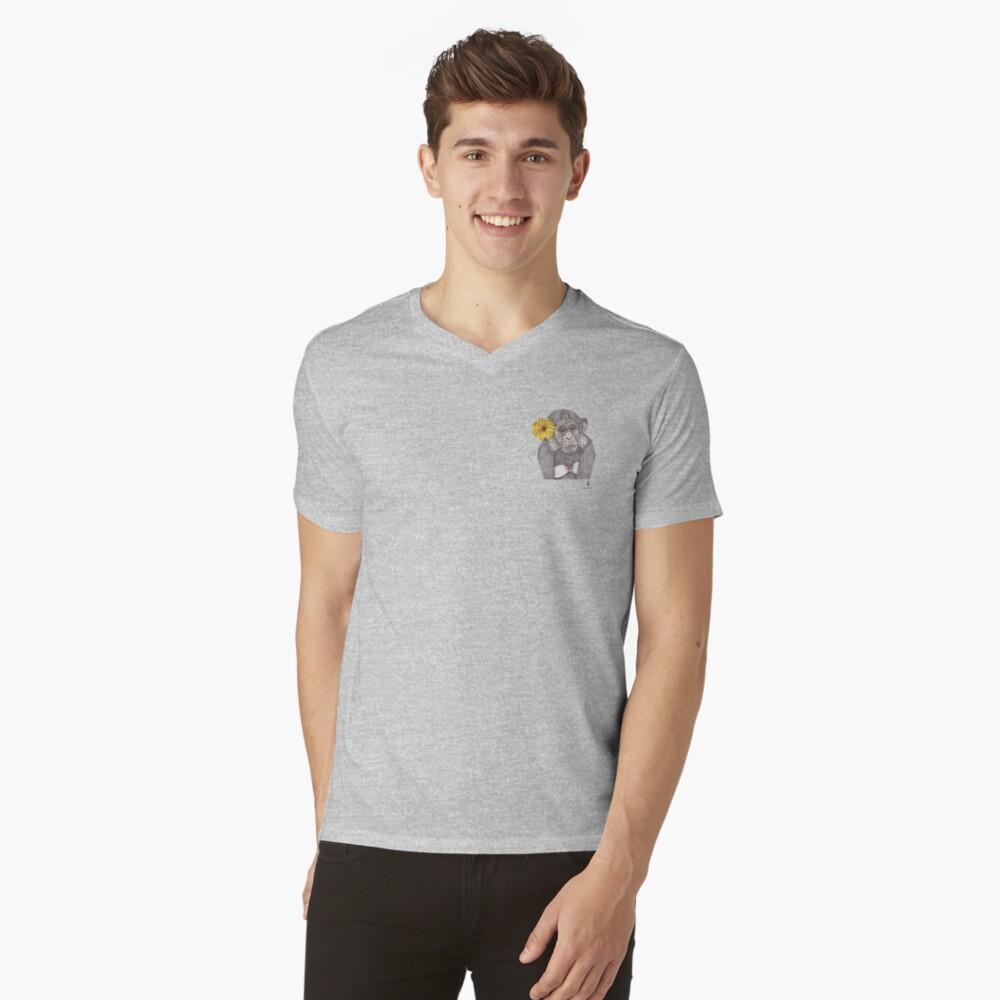 TXIMUA Camiseta de cuello en V