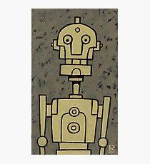 Robot Bob Photographic Print