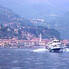 Hydrofoil, Lake Como, Italy. by johnrf