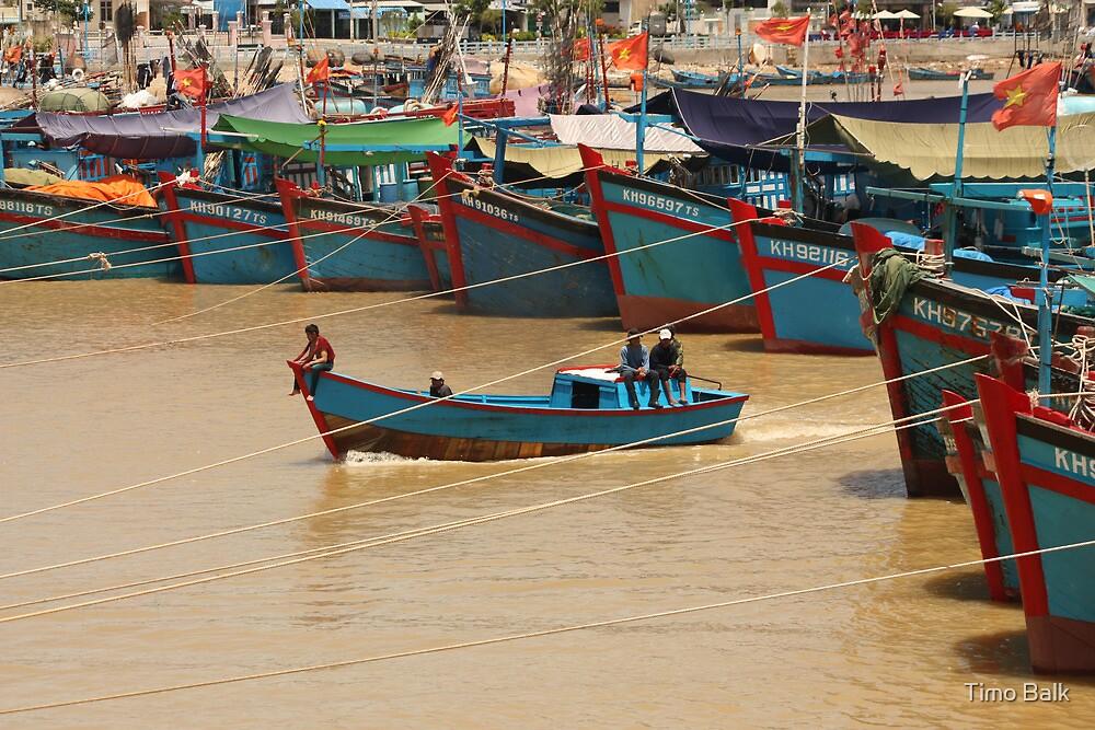 Fishermen of Nha Trang by Timo Balk