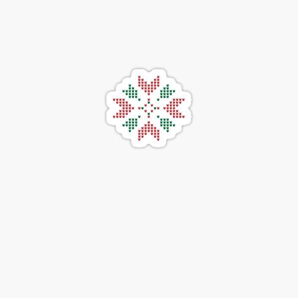 Christmas winter pattern Sticker
