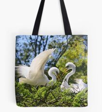 Great White Egret's Tote Bag