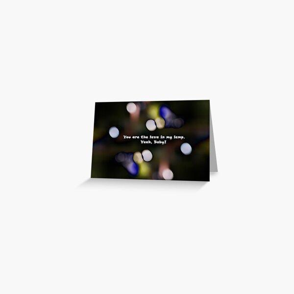 Groovy Greeting Greeting Card