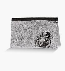 Right Bank Bicycle Greeting Card