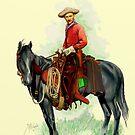 The Cowboy by Roland Millington