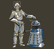TShirtGifter Presents: Cyber3PO and R2Dalek