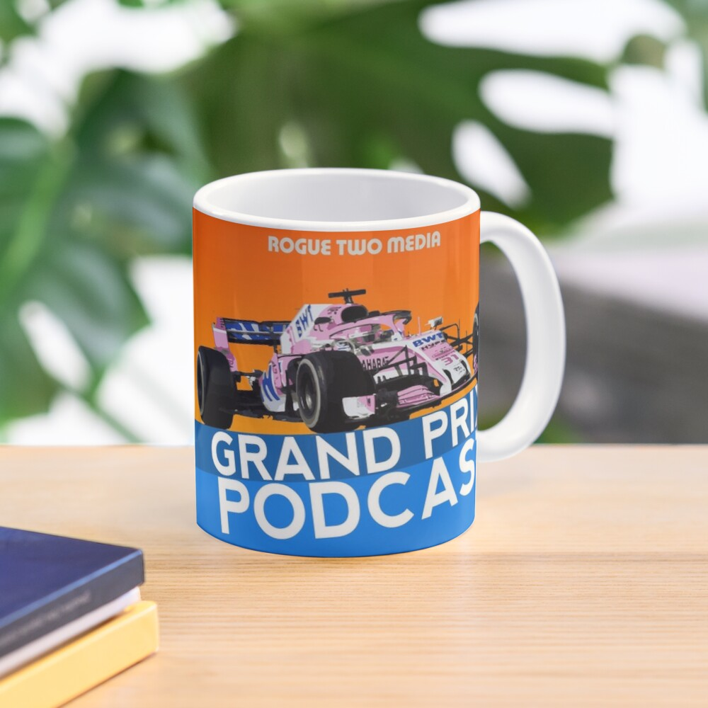 Grand Prix Podcast Cup Mug