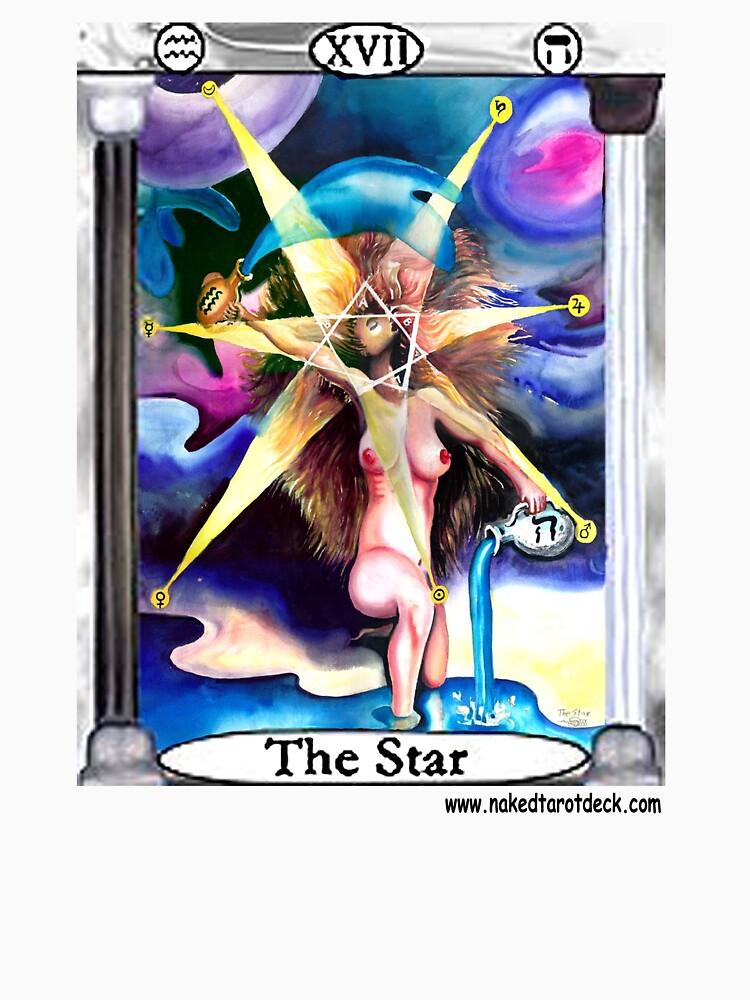 Naked Tarot The Star by dajson