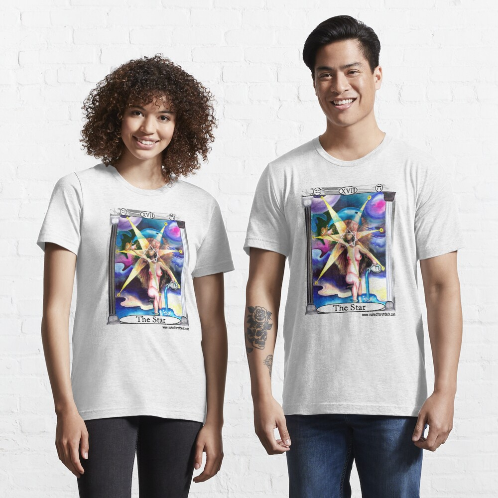 Naked Tarot The Star Essential T-Shirt