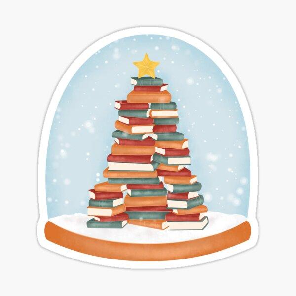 BOOKISH CHRISTMAS Sticker