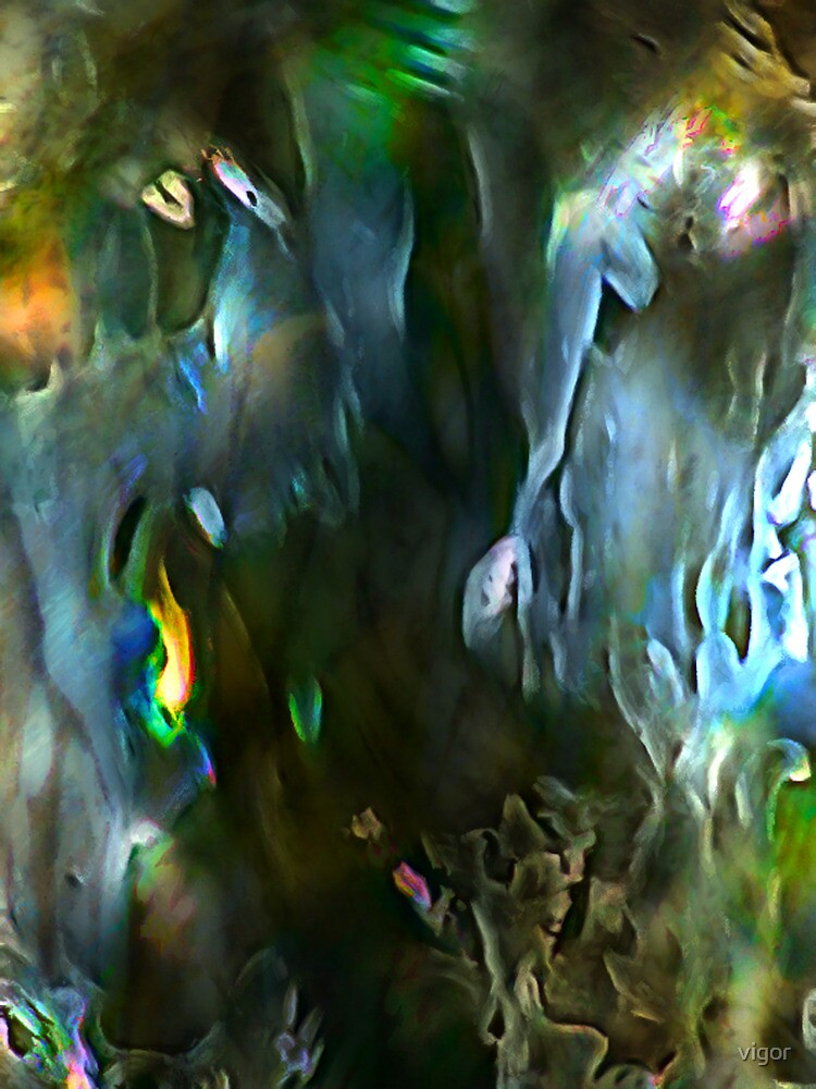 The Unknown-digital abstract (for Alissa Brunskill) by vigor