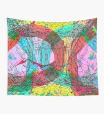 contour chaos Wall Tapestry