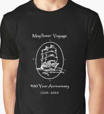 Mayflower Voyage - 400 Year Anniversary 1620 - 2020 Graphic T-Shirt