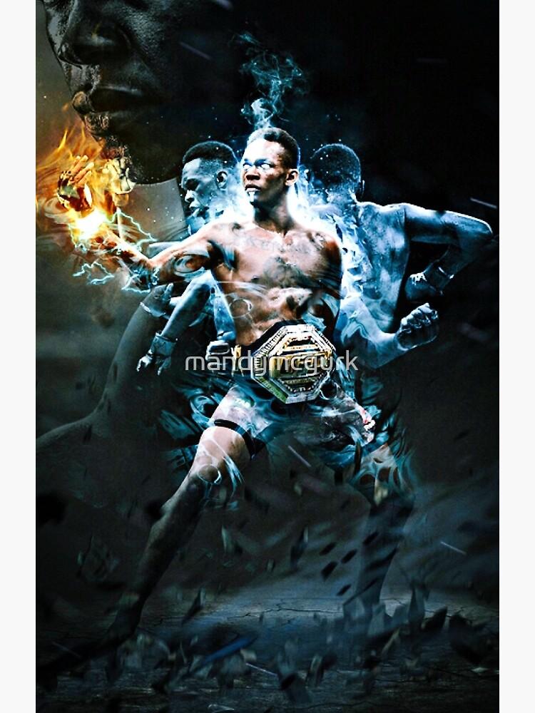 UFC israel Adesanya  by mandymcgurk