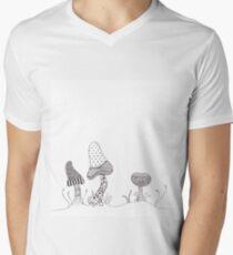 Mushroom Patterns  Men's V-Neck T-Shirt