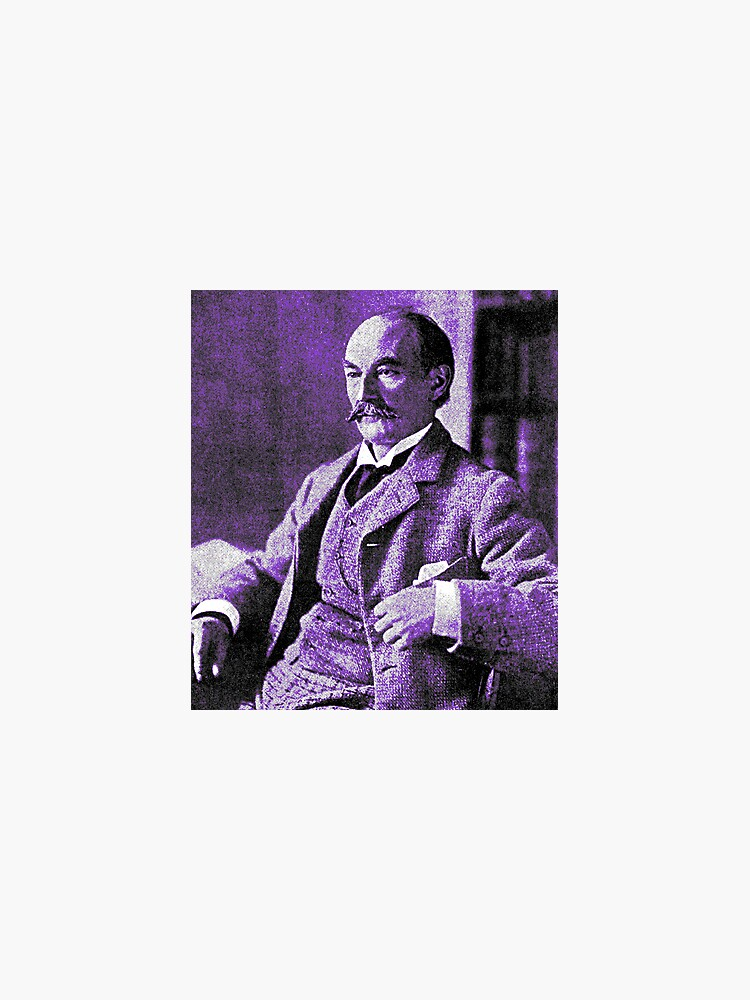 Thomas Hardy OM, English novelist and poet. by dplrjl