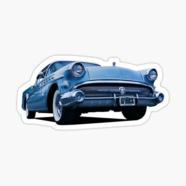 1957 BUICK Sticker