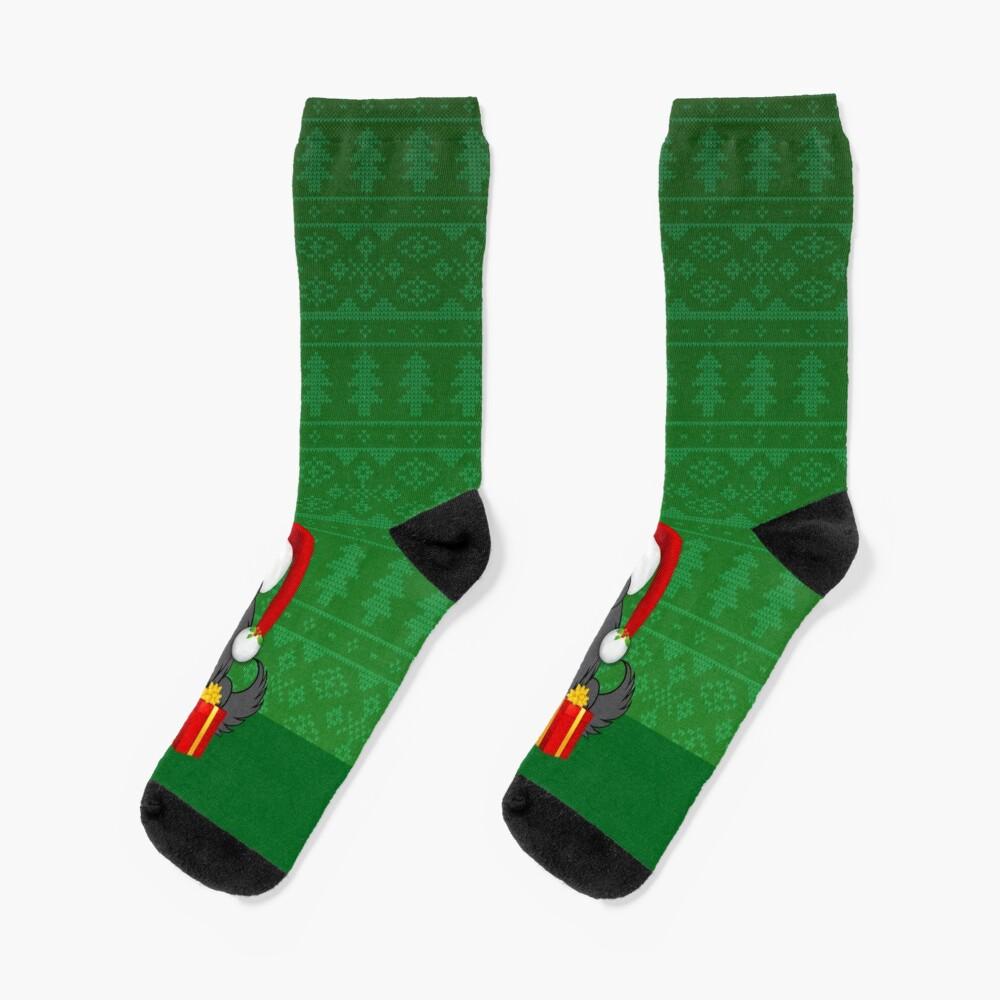 Silly Santa Socks Socks