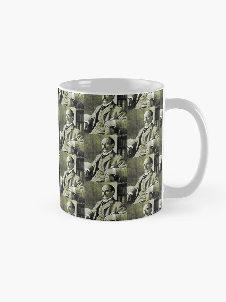 Alternate view of Thomas Hardy OM, English novelist and poet. Mug