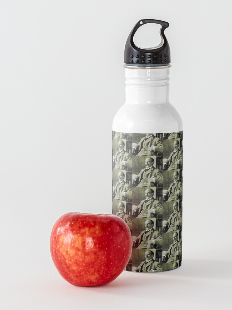 Alternate view of Thomas Hardy OM, English novelist and poet. Water Bottle