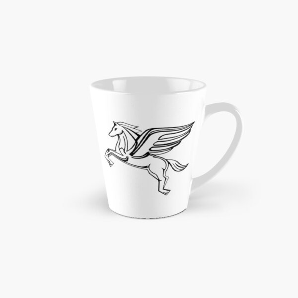 Chasing Pegasus Image (Black Outline) Tall Mug