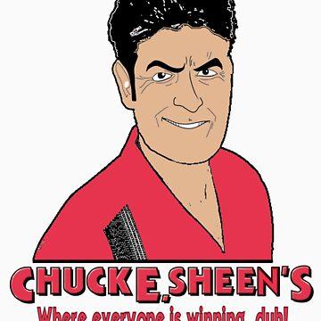 Chuck E. Sheen's by christanski