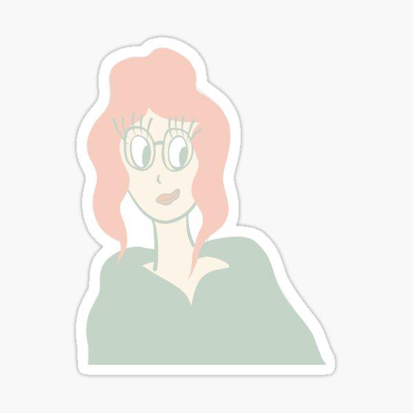 Miss Smarty  Sticker