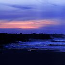 Blue Sunset by Lady  Dezine