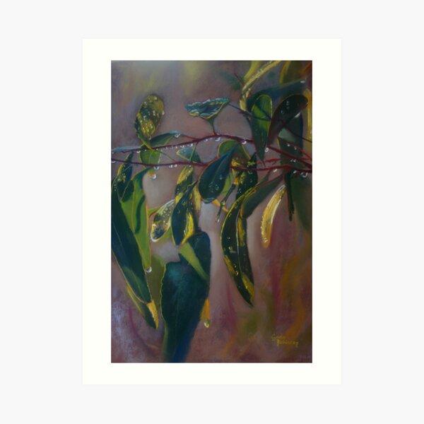 'Just Leaves' Art Print