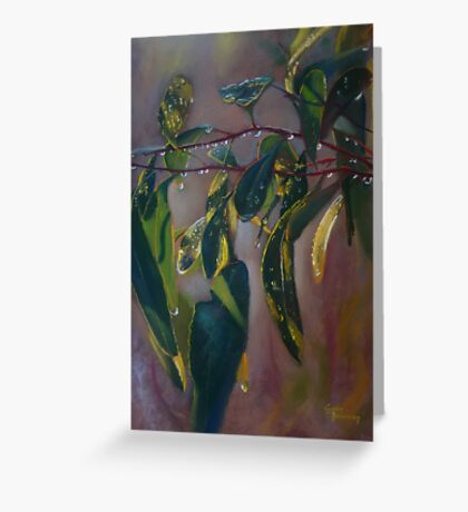 'Just Leaves' Greeting Card