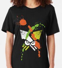 Splatoon - Turf Wars 1 Slim Fit T-Shirt