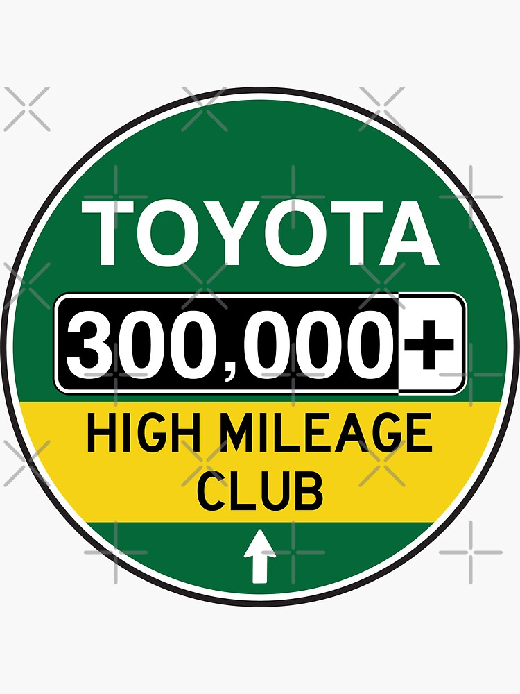 Toyota High Mileage Club - 300,000+ Miles by brainthought