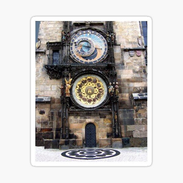 Prague Astronomical Clock  Sticker