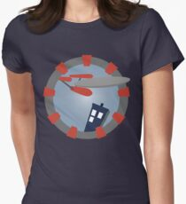 """""""The cavalry has arrived!"""" Womens Fitted T-Shirt"""