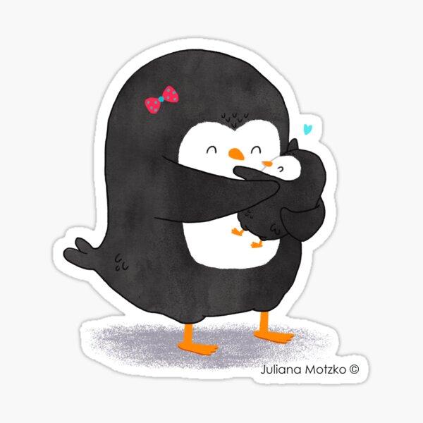 Mother Penguin's Love Sticker