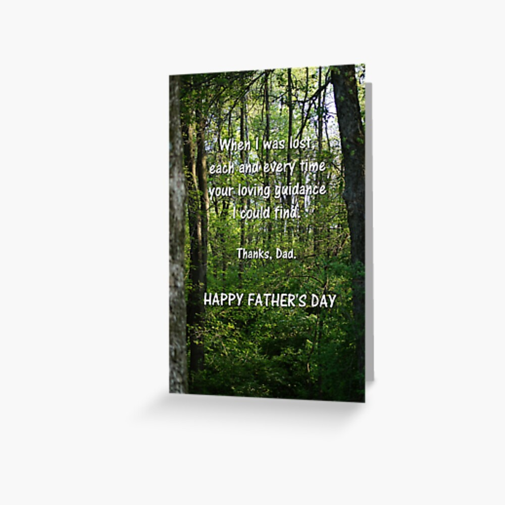 Happy Father's Day Card 2 Greeting Card