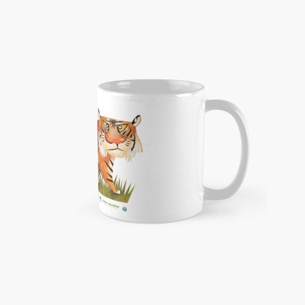 Bengal Tiger caricature Classic Mug