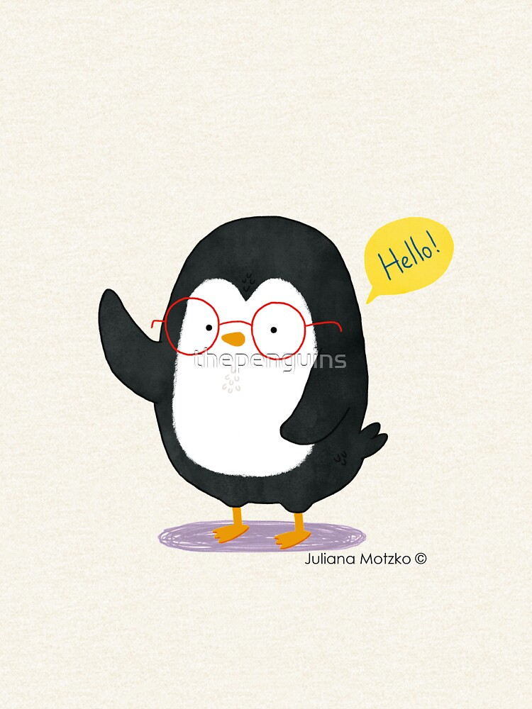 Albert Penguin wants to say Hello ! by thepenguins