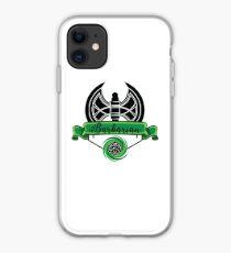 Barbarian Class Green iPhone Case