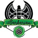 Barbarian Class Green by emilyRose3