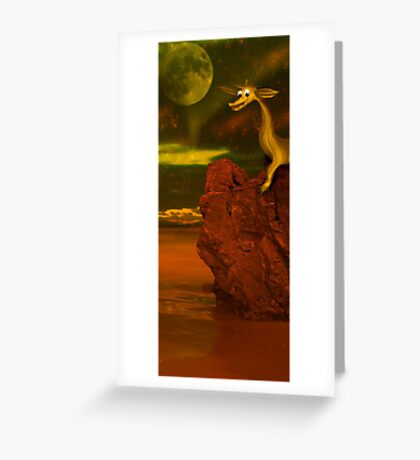 Did you know that cute dragons also existed ;) Greeting Card