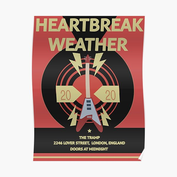 Niall Horan Heartbreak Weather Poster Poster