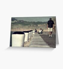 Down by the Sea Greeting Card