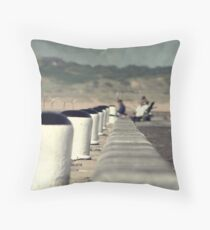 Down by the Sea Throw Pillow