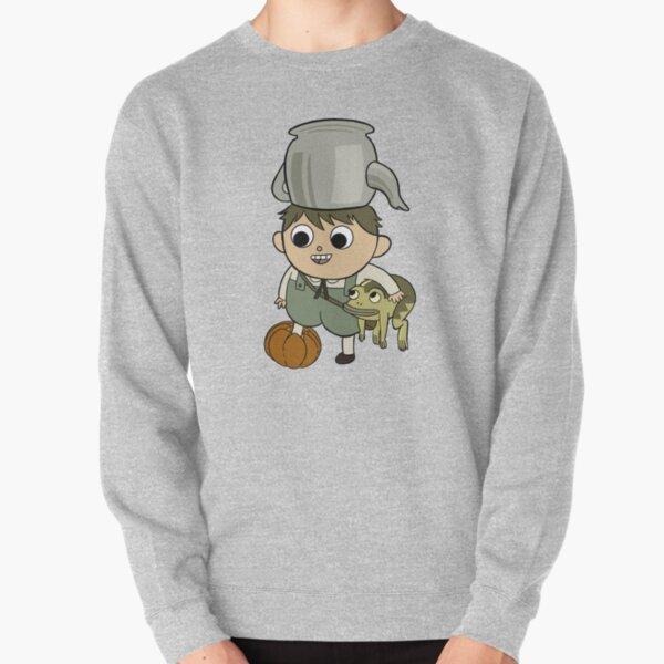 Greg with Pumpkin Pullover Sweatshirt