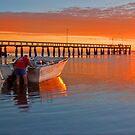 Boaties Delight - Wellington Point Qld by Beth  Wode
